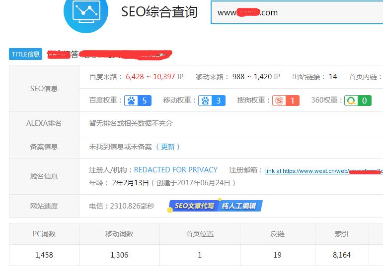 饮食问答网站seo实战案例