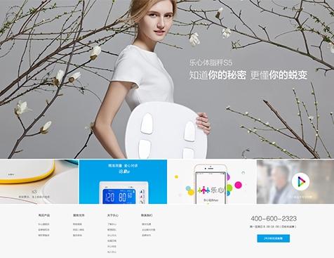 广东乐心医疗电子股份有限公司网站建设项目